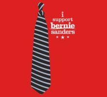 Bernie Tie Shirt - #FEELTHEBERN Fundraising Merchandise One Piece - Long Sleeve