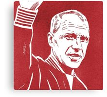 Shankly Red Canvas Print