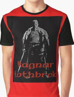 Black Ragnar Graphic T-Shirt