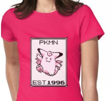 Clefable - OG Pokemon Womens Fitted T-Shirt