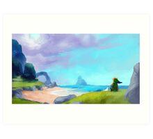 Balmy Seas Art Print