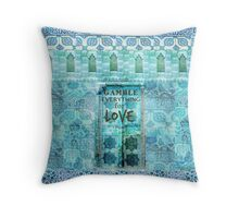 Rumi Love Quote Throw Pillow