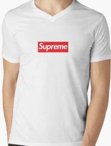 Supreme Box Logo T-Shirt Mens V-Neck T-Shirt