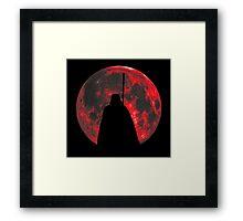 Star Wars: Darth Vader Moon Framed Print
