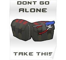 CSGO DONT GO ALONE Defuse Kit Poster