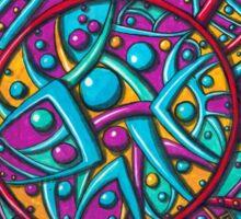 Abstract Geometric Sticker