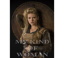 My kind of woman Photographic Print