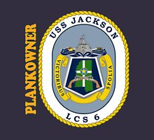 LCS-6 USS Jackson Plankowner for Dark Unisex T-Shirt