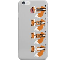 Hipster Foxes iPhone Case/Skin