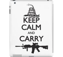 Keep Calm and Carry iPad Case/Skin