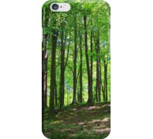 Sunlight In The Woodlands, Dorset iPhone Case/Skin