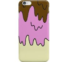 Melted Ice Cream iPhone Case/Skin