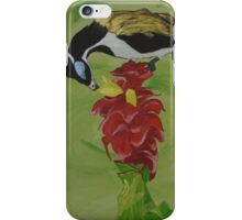 """Blue Faced Honey Eater"" iPhone Case/Skin"