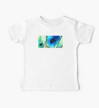 Blue And Green Art - Pools - Sharon Cummings Baby Tee