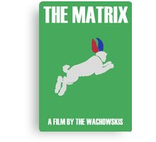 The Matrix Minimalist Design Canvas Print