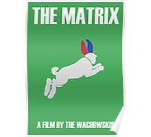 The Matrix Minimalist Design Poster