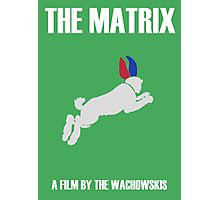 The Matrix Minimalist Design Photographic Print