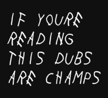 IF YOURE READING THIS WARRIORS ARE CHAMPS by DrDank
