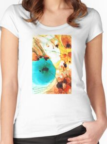 Modern Art - Potential - Sharon Cummings Women's Fitted Scoop T-Shirt