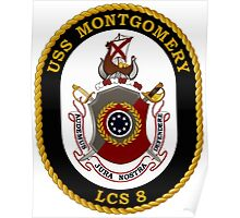 LCS-8 USS Montgomery Poster