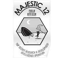 "Majestic 12 ""Field Officer"" Poster"
