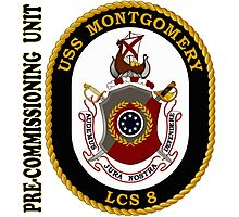 LCS-8 USS Montgomery Pre-Commissioning Unit Photographic Print