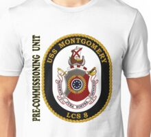 LCS-8 USS Montgomery Pre-Commissioning Unit Unisex T-Shirt