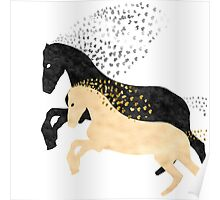 Free horses Poster