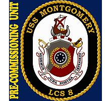 LCS-8 USS Montgomery Pre-Commissioning Unit for Dark Photographic Print