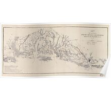 Civil War Maps 1628 Sketch of sea coast of South Carolina and Georgia from Bull's Bay to Ossabaw Sound Poster