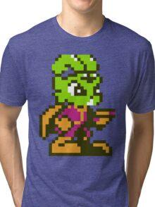 Bucky O'Hare - NES Sprite Tri-blend T-Shirt