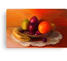 Fruits and Love Canvas Print