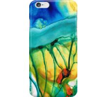 Abstract Art - Journey To Color - Sharon Cummings iPhone Case/Skin