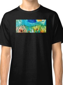 Abstract Art - Journey To Color - Sharon Cummings Classic T-Shirt