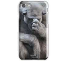Deep in thoughts iPhone Case/Skin