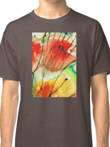Abstract Red Art - The Promise - Sharon Cummings Classic T-Shirt