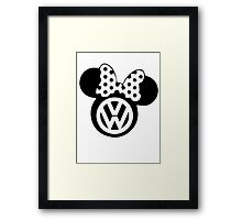 his vw Framed Print