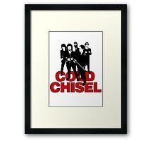 legends cold, rock chisel Framed Print