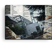 Portland Library Conference Collage Canvas Print