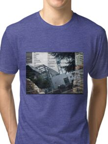 Portland Library Conference Collage Tri-blend T-Shirt