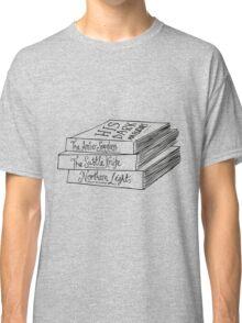 His Dark Materials Book Stack Classic T-Shirt