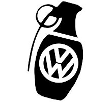 vw  grenade Photographic Print