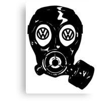 emission scandal Canvas Print