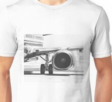 Boeing 737 & CFM56 Turbofan Engine Unisex T-Shirt