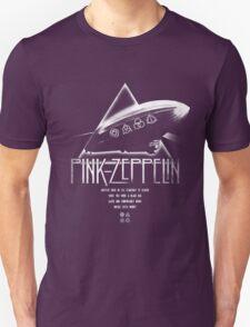 Pink Zeppelin Unisex T-Shirt