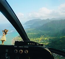 Helicopter Ride in Hawaii by jccorc