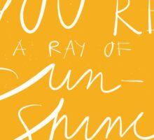 Sun shine Sticker
