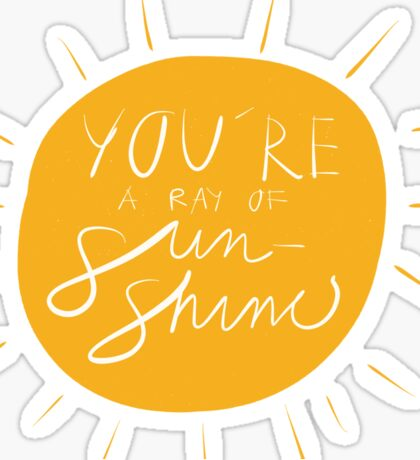 Sun shine Sticker
