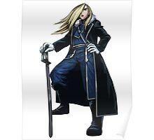 Olivier Milla Armstrong Full Metal Alchemist Poster