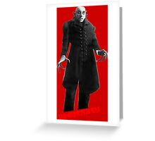 Nosferatu day Greeting Card